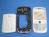 Wholesale Original WHITE FULL HOUSING REPLACMENT CASE COVER KEYBOARD FOR BLACKBERRY