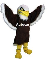Wholesale Bald Eagle Mascot Costume Adult Mascot Men s for Party and Valentine s Day Thanksgiving Day Christmas Halloween and New Years
