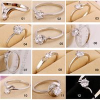 beautiful gifts online - Promotions Mix Styles Beautiful Cheap Engagement Rings for Women Exquisite Various Styles Hot Selling Online Sale Womens Rings