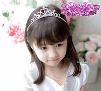 hair sticks - Fashion Girl Crown Children Accessories Baby Hair Bows Girls Tiaras Kids Hair Bows Children Hair Accessories Kids Hair Bows Hair Accessories