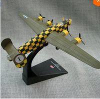 american rv - 2016 Fashion Cute Mini RV Model American B D Long Range Bomber Aircraft Alloy Aircraft Airplane Model Toy Gift B1045