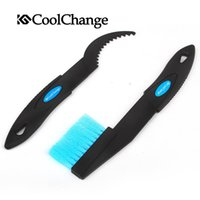 Wholesale Cool to genuine riding exercise bike chain cleaner cleaning kit crankset chain flywheel multifunctional brush set