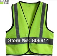 Wholesale EU standard high visibility kid traffic vest student child reflective safety vest with velcro