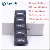 Precio de Evic joytech-100% original Joytech eGo Uno Bobinas CL CLR 0.5 1.0 CLR-Ti CL-Ti 0.4 CL-Ni 0.2 Sub TC Ohm bobina Jefe para el ego de uno mini-mega-EVIC vt VTC 60w kit