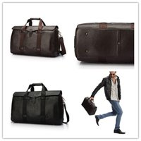 leather duffel bags - MenBags Vintage Business Briefcase Fashion Classic Hot Travel BagReal Leather Shoulder BagHandbag HighCapacity Top Grade Messenger Bags