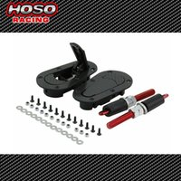 Wholesale HOSO RACING D1Generation Car Bonnet Universal Carbon style Hood Pin Lock Kit Without Lock Piece Set