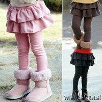 bby - Hot Girl Legging Bby Girls Skirt Pants Cake Skirt Kids Leggings Girl Baby Pants Kids Leggins Leggings For Girls Black Pink