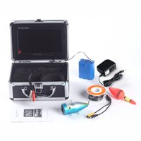 Wholesale 2014 New Aluminium Fish Finder quot TFT LCD Monitor TV Lines Underwater Video Camera System HD M Cable Fishing Tackle Float