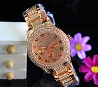 Wholesale Luxury M Brand K0RS Watches Womens Diamonds Watches Brand Date Eyes Women Bracelet Ladies Designer Wristwatches Colors