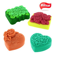 resin molds - 4pcs flower rose sunflower heart silicone mold soap candle resin molds chocolate moulds silicone molds for cakes form for soap