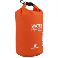 Wholesale New Arrive L Ultralight Outdoor Camping Travel Rafting Waterproof Dry Bag Swimming Travel Kits Orange White Green Blue