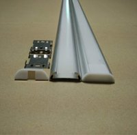 aluminium extrusions - Alu profile to led strips M Floor profile LED Aluminium Extrusion for Floor m LED Strip Aluminum Floor Profile