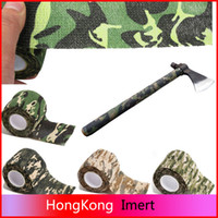 Wholesale 5cmx4 m Army Camo Outdoor Hunting Shooting Tool Camouflage Stealth Tape Waterproof Wrap Durable Cloth Tape a2