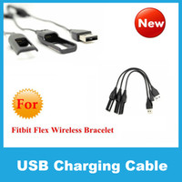 Wholesale 2015 High Quality Fitbit Flex USB Replacement Power Charger Charging Cable Cord for Fitbit Flex Wireless Bracelet Wristband