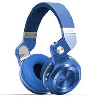 оптовых headphones-Bluedio T2s (Shooting Brake) стерео Беспроводные наушники Bluetooth 4.1 гарнитура со встроенным микрофоном Подарочный пакет