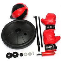 Wholesale New Kids Boxing Punch Ball Children s Training Adjustable Height Bag
