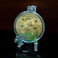 belarus coins - Deal Orthodox Saints Russia coin The st nd Generation design of rubles craft gold plated Belarus copy coins