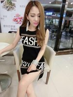 adult newspapers - Women Summer Fashion Dress Newspaper Letter Characters Digital Printed Vest Dress Free Size S125