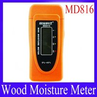 Wholesale MD816 Wood Bamboo Cotton Moisture Meter Tester Mini Pins LCD Timber Damp Detector MOQ