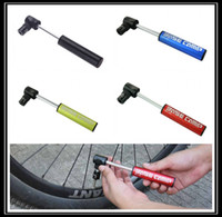 bicycle tire inflator - 2015 Mini Portable Aluminum Alloy Bike Pump Urltra Light Bicycle Air Pump Mountain Bike Cycling Tire Inflator to Presta Conversion zxc