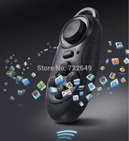 Wholesale Bluetooth Remote Game Controller Gamepad Camera Shutter Wireless Mouse For Iphone For IOS For SAMSUNG Android Laptop TV BOX