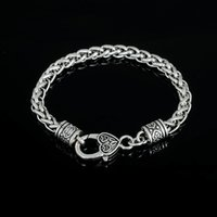 antique love heart ring - Vintage pc alloy antique silver length mm thickness mm hot new fashion link bracelet