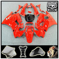 Cheap For HONDA CBR600 F2 91 92 93 94 91-94 Years red ABS Plastic Bodywork Set CBR600F2 CBR 600 F2 600F2 91 94 1991 1992 1993 1994 Fairing Body Ki