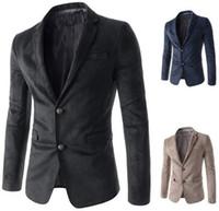 Wholesale 2015 Casual mens business occasions blazers soft men suits A8736