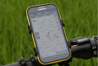 apple roofing - Mountain biking cell phone holder cell phone holder Samsung Apple navigation equipment