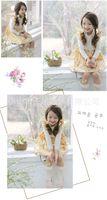 beautiful wind - 2105 Autumn Children Dress Kids Wear Broken Beautiful Pastoral Wind Lace Patterns Printed Dress Of The Girls Fit Age CD88