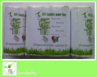 Wholesale new Bags one carton rolls bio soft flushable cloth diaper liner super soft to baby Nappy Liners skin