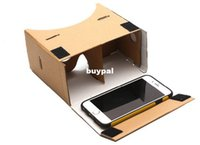 Wholesale Best price VR D Glasses virtual reality DIY Cardboard Virtual Reality VR Phone D Viewing Glasses for quot Screen pcsA1A