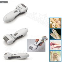 Wholesale Gray Kemei Washable pedicure personal Electric Foot Dead Dry Skin Remover Grinding Cuticle Calluses W