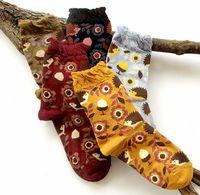 animal hedgehog - 2016 New Autumn Style Warm Cotton Socks Creative Cartoon Hedgehog Socks Fashion Animal Ankle Socks Women