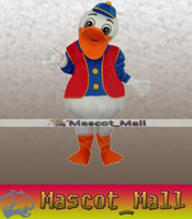 adult hippie costumes - MALL38 Custom Animal Adult Hippie Duck Mascot Cartoon Costume Halloween Party Carnival Outfit Fancy Dress Suit Thanksgiving Christmas