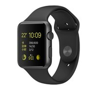 Wholesale New WatchBand For Apple Watch Strap Split Silicone Wrist Band Strap For apple watch mm mm