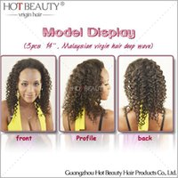 Wholesale Malaysian Curly Virgin Hair Unprocessed Human Hair Natural Color