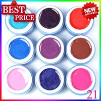 Wholesale 2015 new hot nails art uv color gel