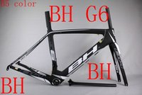 Carbon Fibre carbon road bicycle frame carbon bike frame - BH G6 Spain full carbon T1000 UD black red racing road frame bicycle complete bike frameset look time de rosa Wilier cento s5 r5 Merida
