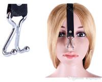 Wholesale BDSM Bondage Gear Restraints Slave Nose Hook Torture Adjustable Elastic Belt Adult Games Sex Toys for Women ASL KQ0258