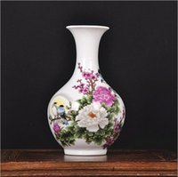 Wholesale Hot Special offer Jingdezhen ceramic vase Modern and stylish furniture crafts ornaments Home Living Room Decorations Gift
