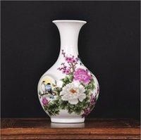 antique ceramic vases - Hot Special offer Jingdezhen ceramic vase Modern and stylish furniture crafts ornaments Home Living Room Decorations Gift