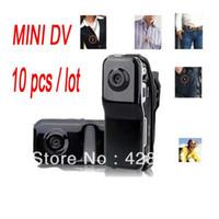 Wholesale Mini DV MD Sports Video Camera MD80 Webcam web Cam Hot Selling Mini DVR Camera Black
