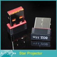 achat en gros de wi fi wirless-Amplificateur Wifi Repetidor Wifi 1pcs 100% Haute Qualité Mini Usb 150m Adaptateur 802.11n / g / b Wi-Fi Wirless Lan Carte Réseau sans fil externe