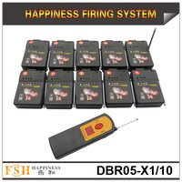 Wholesale FedEX cues m wireless remote control fireworks firing system sequential salvo fireworks system hot sale DBR05 X1