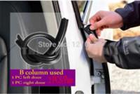 Wholesale Car B Pillar door rubber sealing strip car seal rpuf article door windproof article sealing strip car sound insulation Pair
