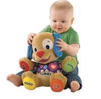 fisher price toys - 2015 fisher price multi function Puppy Plush Musical Toys Singing English Songs puzzle toys Educational Toys