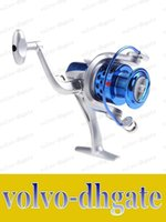 Cheap LAI853 2015 8BB Ball Bearings ST4000 5.1:1 Fishing Reel Left Right Interchangeable Collapsible Handlle Fishing Spinning Reel
