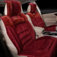 interior trim - In the winter of new FL down car cushion cushion seat cover factory direct sale automobile interior trim products