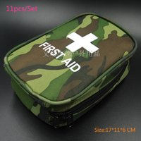 Wholesale New Set Camouflage First aid kit Travel Camping Emergency survival kits Professional Car first aid kit bag
